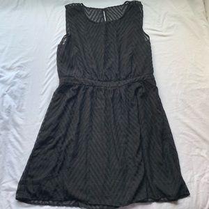 Charming Charlie's Black Sleeveless Dress Size XL